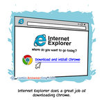 Internet Explorer - Programming Joke