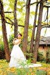golden wedding in Mainland China 金黃銀杏婚禮在中國 001