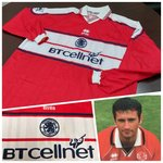 Middlesbrough FC 2000-01 Home Player Shirt