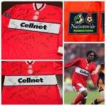 Middlesbrought 1997-98 Home Match Worn Shirt