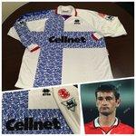 Middlesbrought 1996-97 Away Match Worn Player Shirt