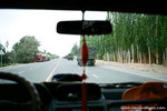 so we are on the road again...going to 喀什, the place we have been expecting.