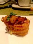 蝦肉三文治碎蛋沙律多士