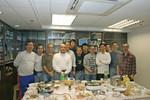 08 Jan 2005 男子組聚會。弟兄何先生决志歸主。