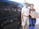 Guide of the Cork'n Fork Winery Tour - Peter Jaques