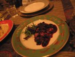 Honey Glazed Duck Breast with a Black Currant Sauce