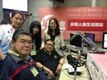 2012年4月12日接受香港電台第一台的非常人物生活雜誌的個人專訪