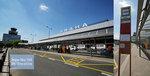 布拉格機場出口有機場bus stop - no. 100 到地鐵站 ZLICIN