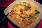 咖喱炒蝦球 (HK$128)﹕鮮蝦非常爽口,咖喱汁又夠香濃,用來伴著飯吃實在一流﹗