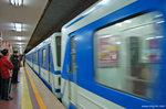 在北京的最後一天,我們再乘一次地鐵。