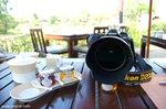 男友的D200啊﹗(酒店一位外籍大廚一看到D200,馬上走過來跟男友討論相機,原來他用D70的,大家談得很高興呢﹗)