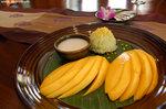 芒果糯米飯,芒果鮮甜得難以形容﹗﹗﹗