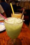 青蘋果蘆薈乳酪(HK$30)﹕大大粒甜甜的蘆薈肉加上有點點乳酪味的梳打水,很好喝。