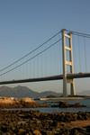 近距離欣賞青馬大橋