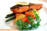 Grilled Salmon非常非常好吃,皮煎得香脆,肉質卻非常柔軟,而且很香口﹗讓我吃得很滿足﹗
