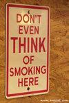雖然現在所有食肆都禁煙了,但我看到這個告示牌還是很高興﹗