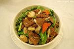 這個菜心炒牛肉非常不錯,菜心清甜,牛肉嫩滑,很快便給我和男友清碟了﹗