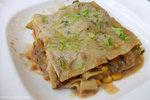 香草白汁茄子雜菜千層麵(HK$48)﹕有別於一般的芝士肉醬千層麵,這個千層麵感覺非常清新,不會太膩,而且帶著鮮甜的味道 ^0^