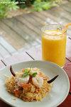 Pomelo Salad with Fresh Shrimps