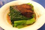蝦子油菜,味道也不錯﹗(但我覺得沒有蝦子好像反而較美味……)