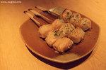 春之特撰料理 — 芝士魚肉卷(HK$20)﹕像獅子狗的小卷包著芝士,味道就是濃濃的芝士味,吃得多會有點膩啊﹗