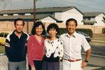 左:陳賢治夫婦和郭文和/曾玉琳夫婦.