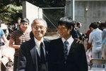 1985年次子國樑畢業於UC Berkeley.
