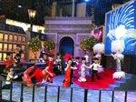 Mechanical puppet show at Landmark