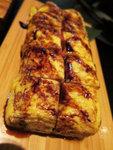 明太子煎蛋卷,蛋的外層燒得很靚,內裡層次分明,廚子的技巧挺高明