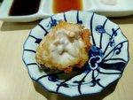 炸鱈魚白子