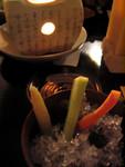 蟹糕醬伴野菜 2