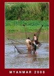 on the way to Inwa, fishermen