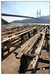 晒蝦膏用的木架