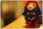 2008.5.10 paddington bear on coffee table