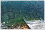 東平洲碼頭, 水清澈