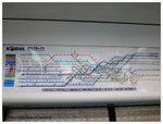 首爾地鐵線,眼花@_@
