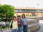At the Sandai Station waiting for the Bullet train 仙台駅 cIMG_7475