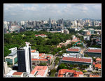 overlooking the view of singapore