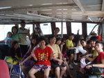 要搭2次船先去到目的地的水上活動中心!