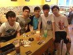 2013/08/08 下午 6C之放Jupas前夕瘋狂派對 at Small Potato 分店