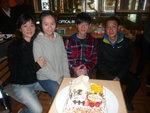 2013/12/22 晚上 卓然子悅 Birthday Party at Small Potato 分店