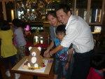 2014/07/18 晚上 臻一 Birthday Party at Small Potato 分店