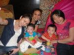 2014/09/06 晚上 Baby Gathering Party at Small Potato 分店