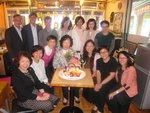2015/04/17 晚上 馬校長生日會暨家石團隊再重聚2015 Party at Small Potato 分店