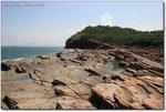 海蝕平台,東平洲的岩層傾斜