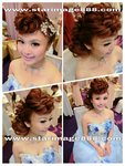 新娘髮型,立體髮型,新娘化妝,新娘化妝set頭,新娘送客造型,送客造型