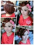 香港新娘化妝,新娘造型,新娘化妝造型,裙褂化妝,裙褂髮型,