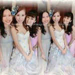 新娘化妝set頭,新娘化妝跟全日,迎賓造型,新娘晚裝造型,姊妹化妝set頭,