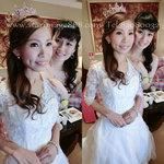 新娘進場造型,新娘公主造型,新娘皇冠造型,婚紗化妝,