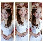 bride make up hk,新娘公主造型,婚紗妝,皇冠造型,自然新娘化妝